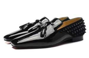 大人キレイに仕立てる 15春夏物 Christian Louboutinクリスチャンルブタン レザーシューズ靴