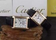 2016  カルティエ  CARTIER【人気ブログ掲載】  コーティングガラス 恋人腕時計 多色選択可