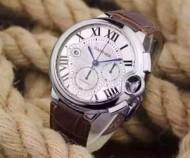大人のおしゃれに 2016  カルティエ  CARTIER7750スイスムーブメント 45mm 男性用腕時計 6色可選