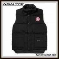 秋冬お洒落存分のカナダグース ダウンベスト メンズ CANADA GOOSE 2つポケットとロゴが付き男性冬服