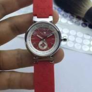 存在感のある ルイ ヴィトン 2017春夏 女性用腕時計 多色選択可 輸入クオーツムーブメント ミネラルガラス