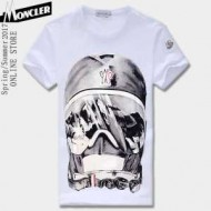 2017年春夏新作 MONCLER モンクレール 4色可選 高品質 人気 半袖Tシャツ 肌に密着