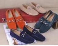 サルヴァトーレフェラガモ Casual Shoesカジュアルシューズ 適度なソフトなFerragamo4色選択メンズパンプス 398471459.