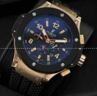 ウブロ 時計 メンズ ビッグバン HUBLOT 自動巻き 爆買いセールのフェラーリ オールブラック 男性ウォッチ.