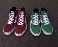 シュプリーム スニーカー ナイキ 人気セールのSUPREME レインレッドとグリーンの2色選択 メンズ靴.