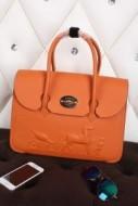 エルメスバッグ HERMES ガーデンパーティー レディーストートバッグ オレンジ