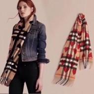 高級感溢れるデザイン2017秋冬季 バーバリー BURBERRYロングマフラー 2色選択可