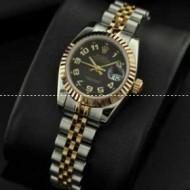 ROLEXロレックス スーパーコピー 女性用腕時計自動巻き3針クロノグラフ日付表示サファイヤクリスタル風防 27.00mm
