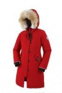 人気爆だんな売れ筋!Canada Goose カナダグース ダウンジャケットスーパーコピー子供用 ダウンウェア ロングコート 赤色