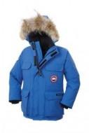話題となる人気品Canada Goose カナダグースジャケット偽物 子供用ダウンジャケットダウンコート ダウンウェア ブルー