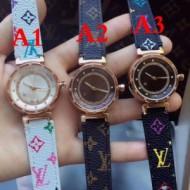 女性用腕時計 ルイ ヴィトン LOUIS VUITTON 2017 多色可選 輸入ムーブメント 抜群な存在感
