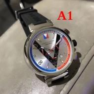 2017 お買い得高品質 輸入クオーツムーブメント 男性用腕時計 多色可選 ルイ ヴィトン LOUIS VUITTON
