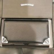 上品 CHROME HEARTS クロムハーツ財布スーパーコピー ラウンドファスナーウォレット二つ折り長財布