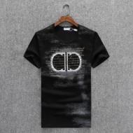 サルヴァトーレフェラガモ スーパーコピー Tシャツ 2018夏季新作 プリント ブランド FERRAGAMO メンズ 4色展開