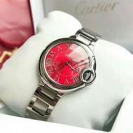 人気商品新色登場! カルティエ CARTIER 国内配送 スイス輸入クオーツムーブメント 女性用腕時計