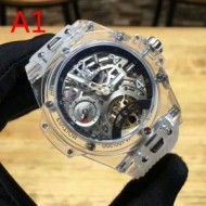 注目の逸品 2色可選 男性用腕時計   機械式(自動巻き)ムーブメント ウブロ HUBLOT 2018年春夏のトレンド