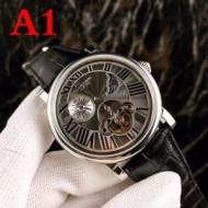 人気が再燃! 自動巻き  ムーブメント カルティエ CARTIER 4色可選 男性用腕時計 2018最新コレクション