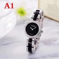 『個性』を表現出来る 上品な光沢感 シャネル CHANEL  女性用腕時計 4色可選 2018秋冬新作