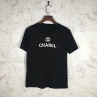 シャネル CHANEL  上質な素材採用 Tシャツ  超人気大特価 2色可選 2018激安セール最高峰