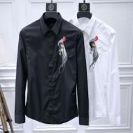 大人の魅力を溢れる ドルチェ&ガッバーナ Dolce&Gabbana 当店ランキング1位常連 シャツ 2色可選