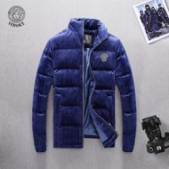韓国の人気 ダウンジャケット メンズ  2色可選 定番の魅力 ヴェルサーチ VERSACE  韓国高級服