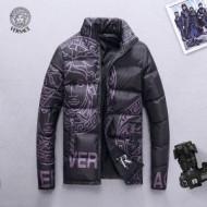 韓国高級服 海外人気アイテム 2018定番新作 ヴェルサーチ VERSACE  ダウンジャケット メンズ