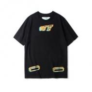 OFF BLACK 2色可選 スタイルUP効果あり 19SS新作大人気旬トレンド Off-White オフホワイト 半袖Tシャツ