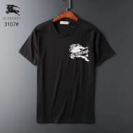 通勤にもOK Burberry半袖tシャツスーパーコピー無地デザイン黒白2色 バーバリー Tシャツ コピー快適な着心地 薄手通気性抜群