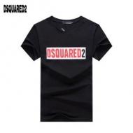 この夏に入れるべき ディースクエアードコピー DSQUARED2半袖tシャツスーパーコピー 黒白2色エレガントなデザイン 優れた着心地 幅広い場合にもピッタリ