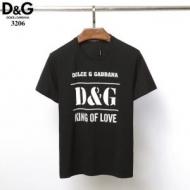 お買い得品質保証 ドルチェ&ガッバーナコピー Dolce&Gabbana半袖tシャツスーパーコピー フロントプリントロゴ 快適な着心地通気性抜群