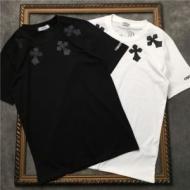 SS19春夏入荷人気のスピーディ クロムハーツ CHROME HEARTS 半袖Tシャツ 2色可選 男女兼用 春夏新作奇跡の再入荷