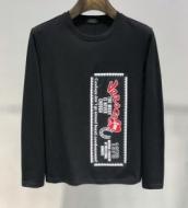 2色可選 長袖Tシャツ SS19春夏入荷人気のスピーディ毎年定番人気商品 ヴェルサーチ VERSACE