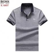 ヒューゴボス ポロシャツ メンズ 洗練されたイメージに スーパーコピー Hugo Boss ブルー グレー 通勤通学 大人気 お買い得