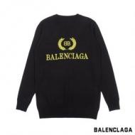 バレンシアガ セーター メンズ オシャレさんにも大絶賛 上質 コピー BALENCIAGA ブラック プリント カジュアル 最低価格