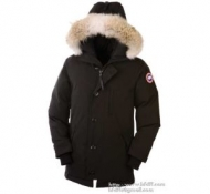 ブランド スーパー コピー_超限定即完売Canada Gooseカナダグースコピー3426 CHATEAU PARKAメンズ ダウンジャケット ロングダウンコート ブラック 6色可選