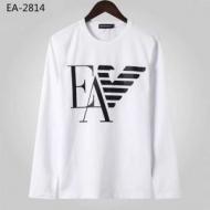 長袖Tシャツ 2色可選 秋冬の気分溢れるアイテム 2019年秋冬人気新作の速報 アルマーニ ARMANI
