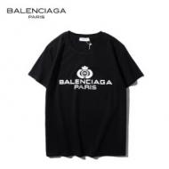 バレンシアガ tシャツ サイズ感 楽チン感と大人らしさを演出 BALENCIAGA コピー メンズ 4色可選 ロゴ入り カジュアル 完売必至