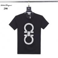 最新2020春夏ファション 3色可選 サルヴァトーレフェラガモ FERRAGAMO 気になる新作はお得な 半袖Tシャツ