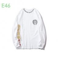 CHROME HEARTS 長袖Tシャツ 通販 シックな雰囲気を醸し出す限定品 メンズ クロムハーツ コピー ブラック 清潔感 ブランド 格安