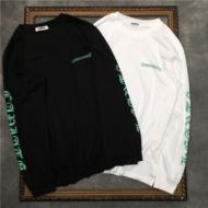 クロムハーツ 長袖 コピー 個性を引き出す話題新作 CHROME HEARTS Tシャツ メンズ ブラック ホワイト プリント 通勤通学 激安