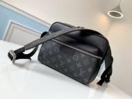 モダンスタイルに最適 ルイ ヴィトン ショルダーバッグ レディース Louis Vuitton コピー 黒 2020SS ブランド 最高品質