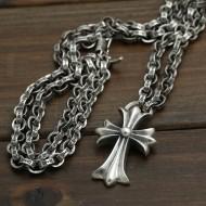 上質  2016 クロムハーツ CHROME HEARTS  シルバー925 ペンダントトップ 十字架