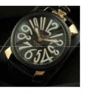 高級感漂う ガガミラノ GaGa MILANO マヌアーレ40MM ユニセックス 5022.1 お洒落なクオーツ腕時計
