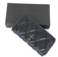 クロム ハーツ 財布 コピー CHROME HEARTS ロングウォレット REC F ZIP2 アリゲーター ブラック 男女兼用.