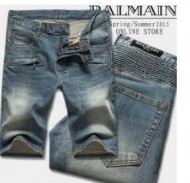 夏も快適に過ごせるバルマン BALMAIN  心地良いデニム人気色