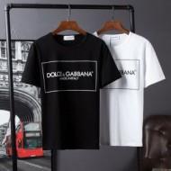 人気 ランキング 2018春夏新作 半袖Tシャツ ドルチェ&ガッバーナ Dolce&Gabbana 2色可選