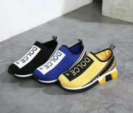 Dolce&Gabbana当店大人気 2018春夏新作 ドルチェ&ガッバーナ 3色可選スニーカー、靴