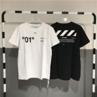 半袖Tシャツ 人気ブランドランキング OFF WHITE CO VIRGIL ABLOH  オフホワイト  2色可選