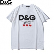 Dolce&Gabbana ドルチェ&ガッバーナ 半袖Tシャツ 2色可選 元気な印象に カジュアルの定番