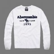 VIP 先行セール2019年夏 関税補償新作限定大人可愛い アバクロンビー&フィッチ Abercrombie & Fitch  長袖Tシャツ 2色可選